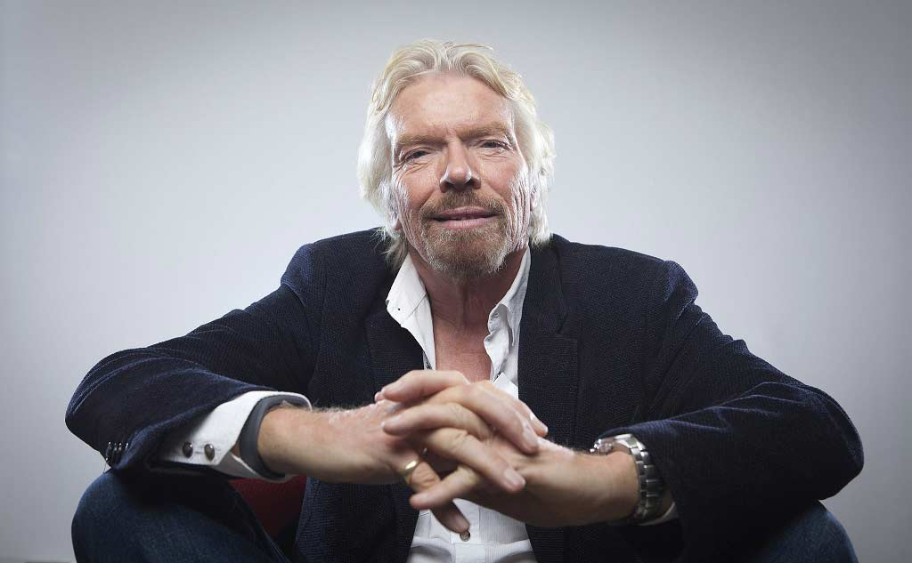 Richard Branson, Launch High School, Entrepreneur